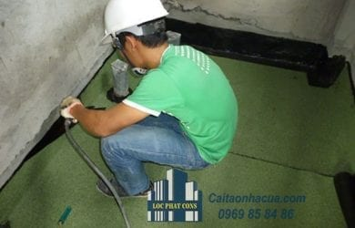 Cách xử lý chống thấm nhà vệ sinh-1