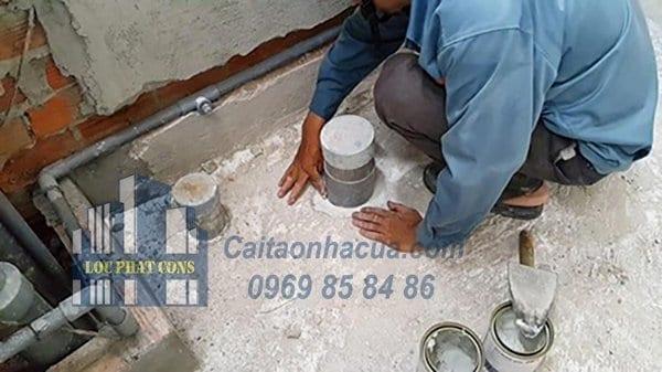 Dịch vụ chống thấm nhà vệ sinh tại quận Ba Đình-1