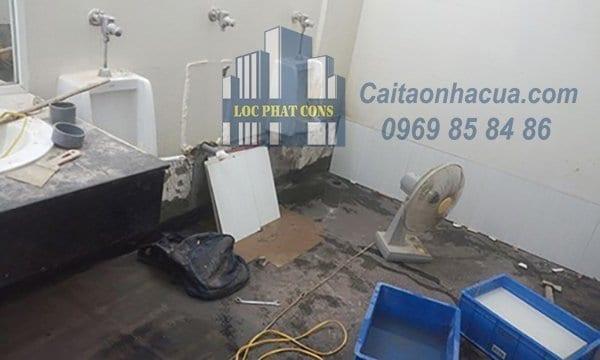 Dịch vụ chống thấm nhà vệ sinh tại quận Ba Đình