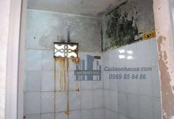 Dịch vụ chống thấm nhà vệ sinh tại quận Hà Đông