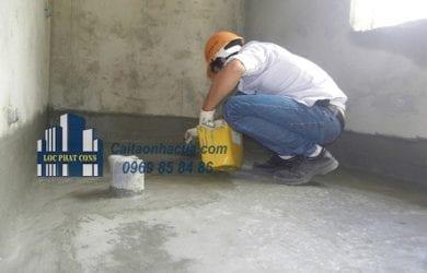 Dịch vụ chống thấm nhà vệ sinh tại quận Long Biên