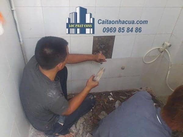Dịch vụ chống thấm nhà vệ sinh tại quận Tây Hồ
