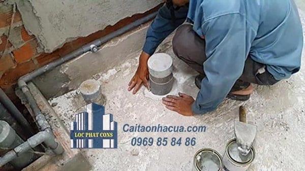 Dịch vụ chống thấm nhà vệ sinh tại quận Thanh Xuân