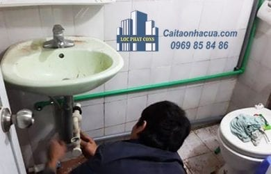 Sửa chữa điện nước tại quận Cầu Giấy-1