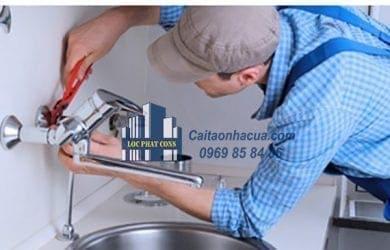 Hở đường ống dẫn nước sạch