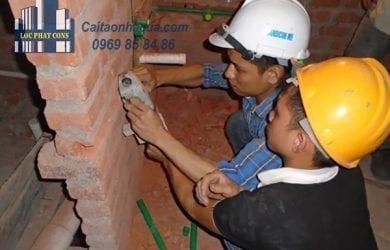 Lắp đặt hệ thống điện mới cho căn nhà-1
