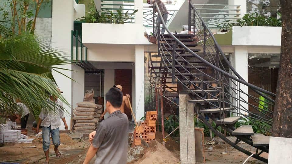 Các hạng mục sửa chữa cải tạo nhà