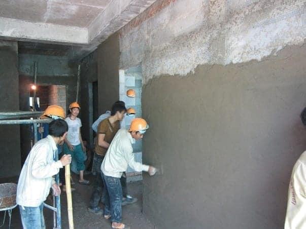 Trát vữa tường & trần