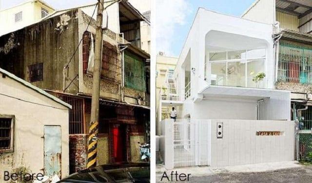 Sửa chữa nhà phố mang không gian mới cho gia đình