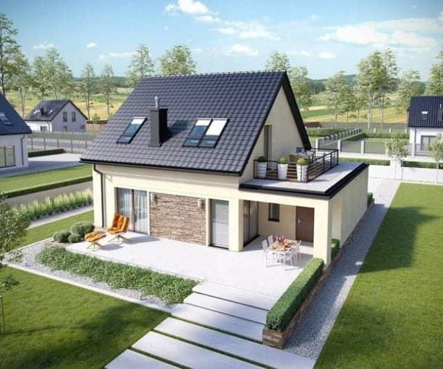 Cải tạo nhà tại Thanh Trì tạo không gian mới cho ngôi nhà