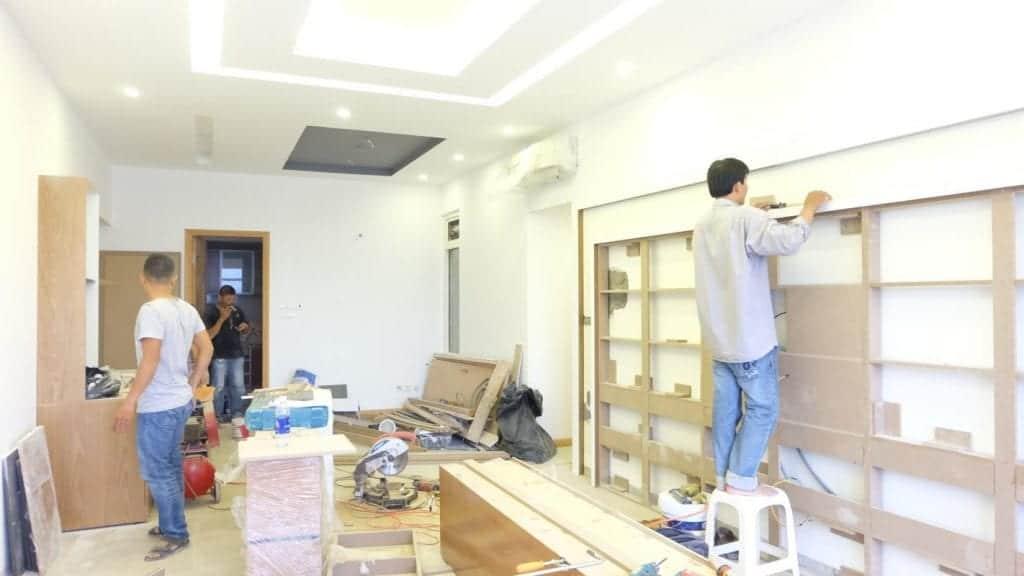 Sửa chữa nhà chung cư nhu cầu hiện nay của nhiều hộ gia đình