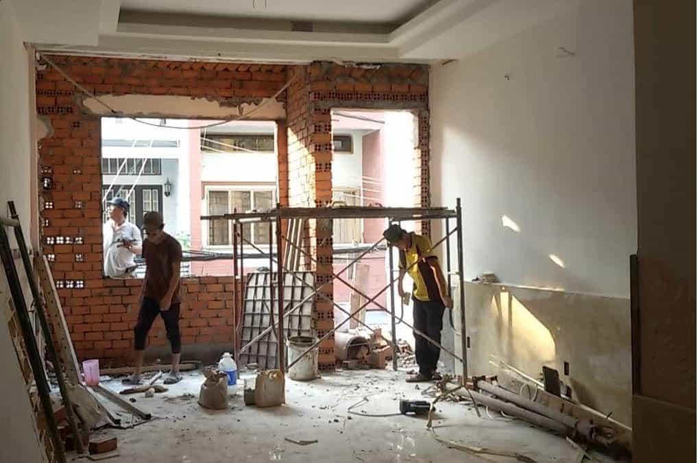 Dịch vụ sửa chữa nhà phố uy tín chất lượng