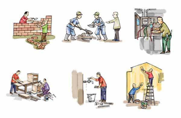 Dịch vụ cải tạo nhà tại Đống Đa của Lộc Phát