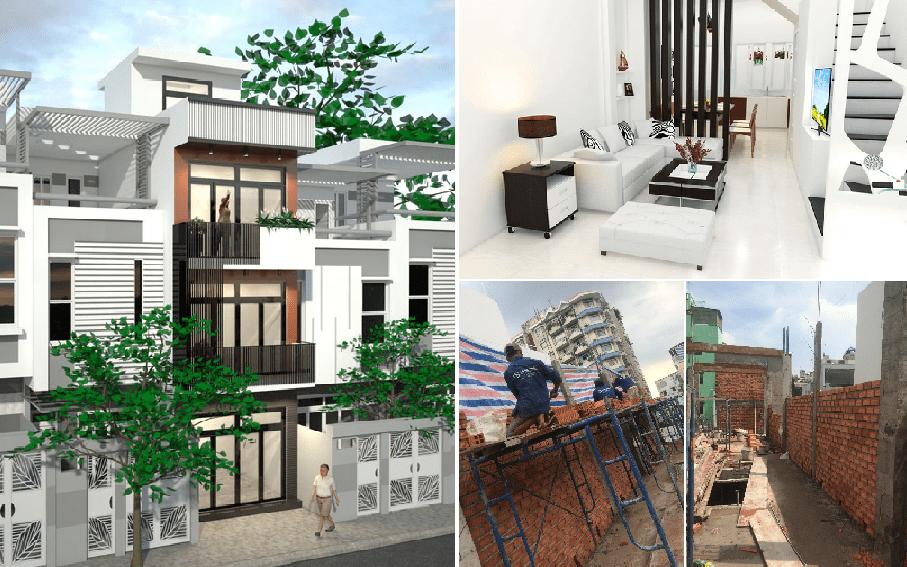 Sửa chữa cải tạo nhà ống nâng cấp không gian sống cho gia đình