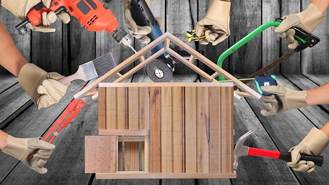 Cải tạo nhà ống cải tạo không gian sống cho các thành viên trong gia đình