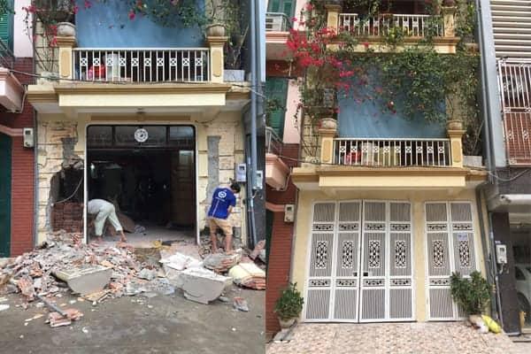 Dịch vụ sửa chữa nhà ở trọn gói giá rẻ tại Hoàng Mai