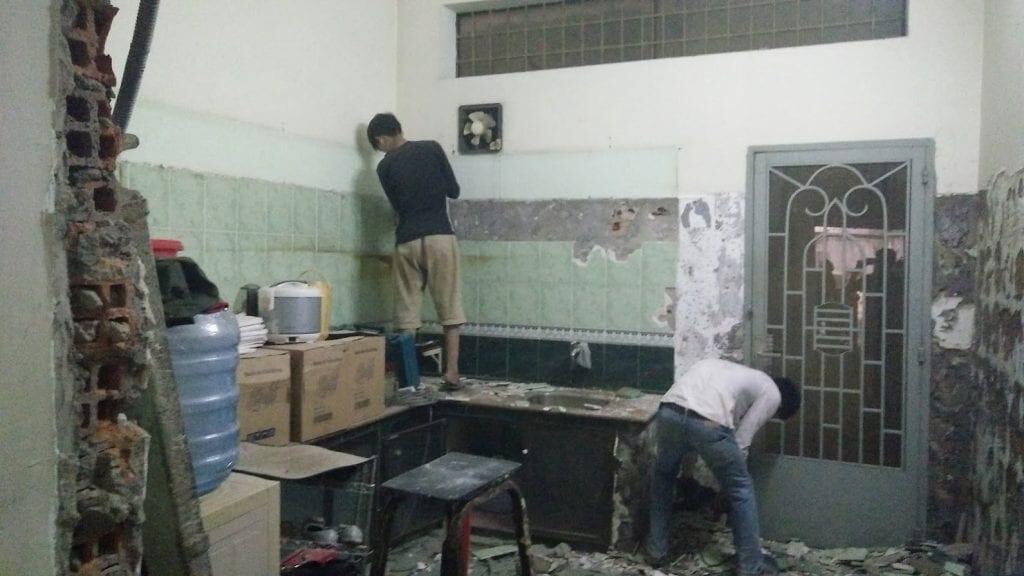 chi phí sửa chữa nhà 3 tầng