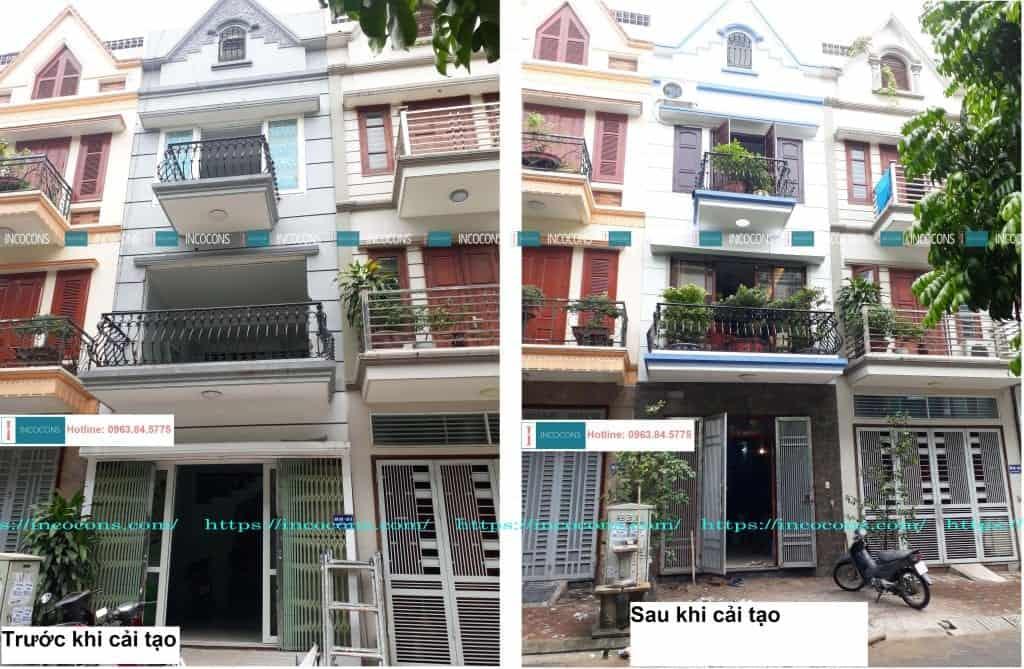 Trước & sau khi sửa chữa nhà