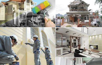 nhận sửa chữa nhà