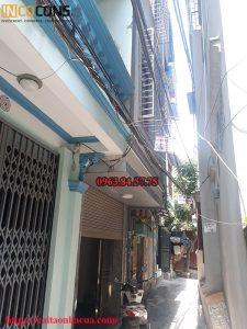 Cải tạo sửa chữa nhà Anh Duyên ngõ 207 Trương Định
