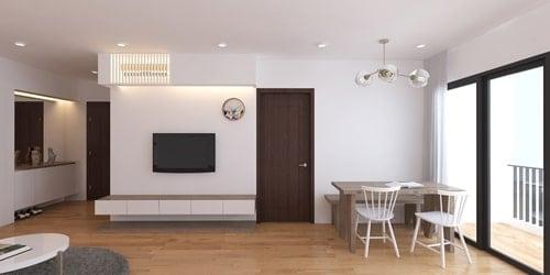 cải tạo căn hộ 60m2