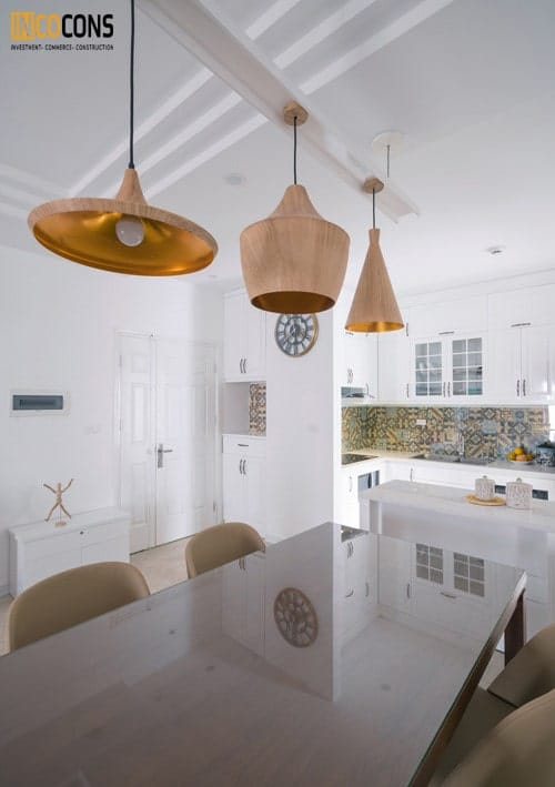 cải tạo căn hộ chung cư tối giản