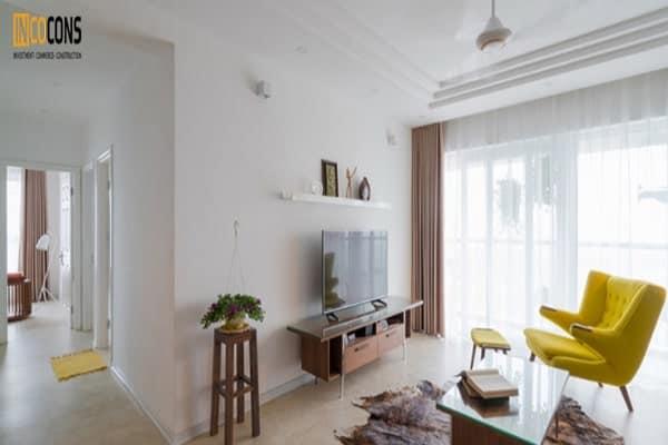 cai tạo căn hộ chung cư tối giản